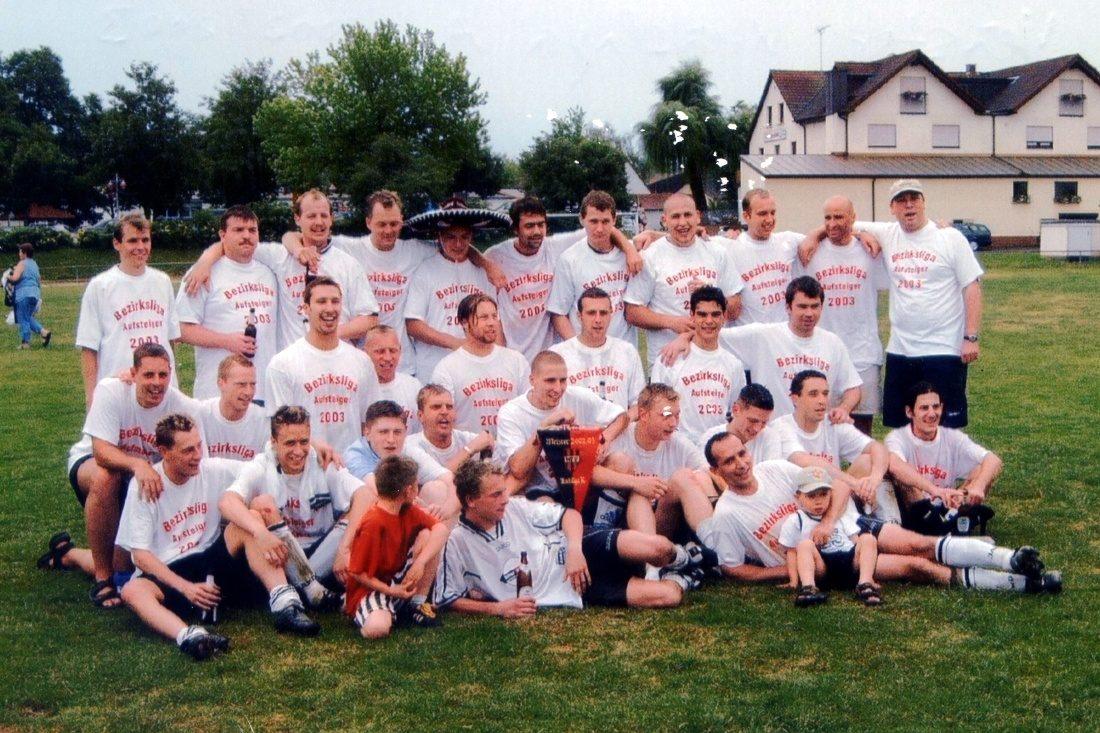 Saison 2002/2003 Herren [1] Meister Kreisliga A1