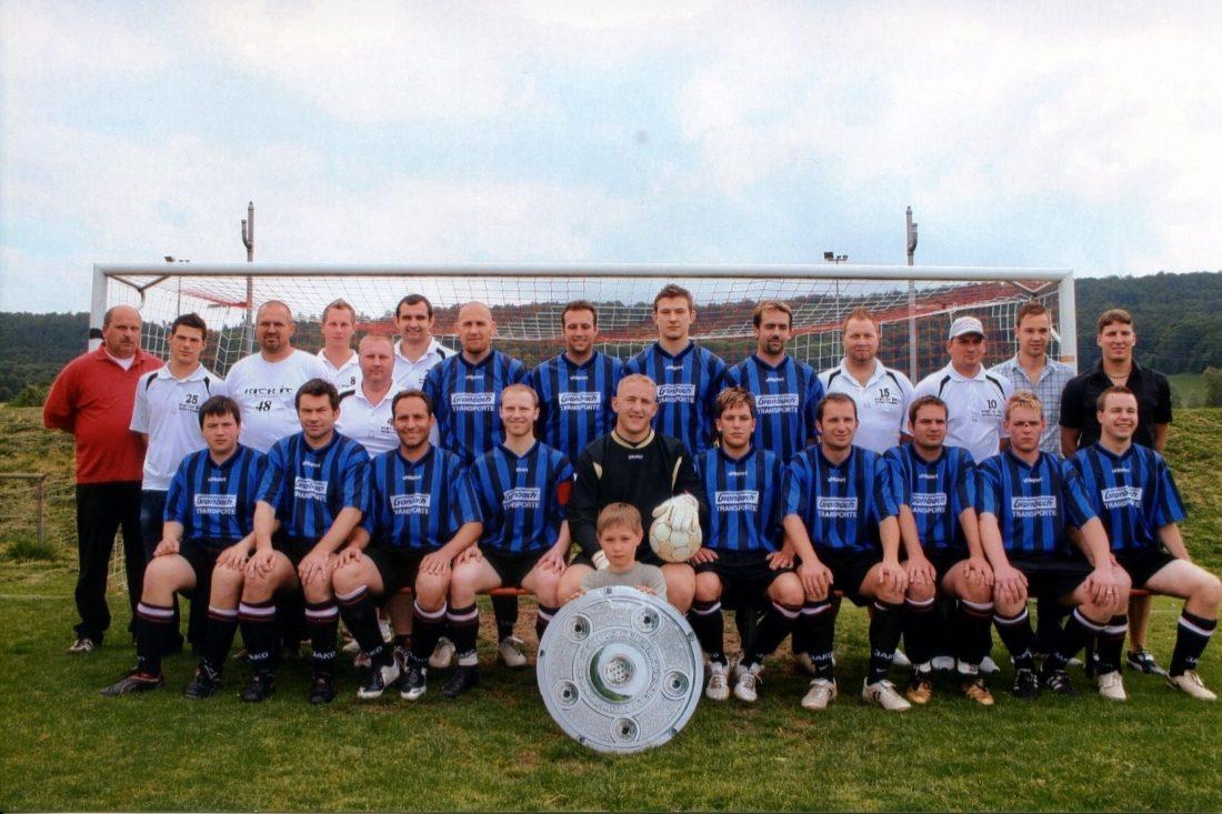 Saison 2007/2008 Herren [2] Meister Kreisliga B5